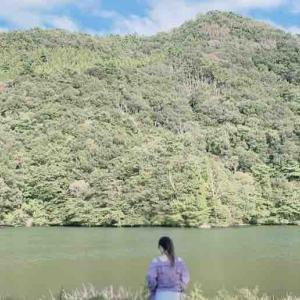 静か過ぎる、大山 大野池