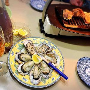 檸檬 レモンを牡蠣に。
