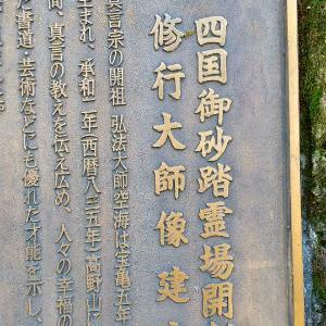 板橋区の安養院で四国八十八箇所砂踏霊場と野生のインコ