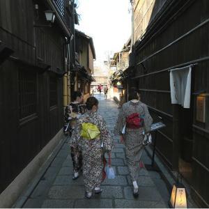 母と京都旅・白川南通から花見小路
