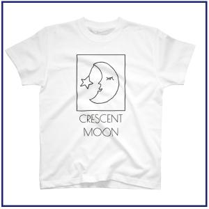 三日月と星のデザイン