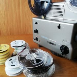 16ミリフィルムと映写機を「処分」