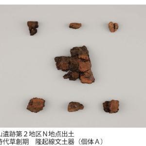 日本で二番目に古い土器と判明 武蔵野市の縄文時代の資料