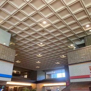 武蔵野市役所一階の天井を改修
