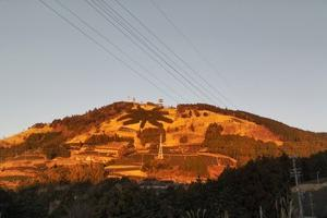 粟ヶ岳の夜明け