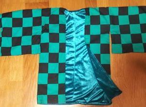 炭次郎の羽織作りました
