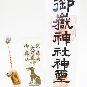 武蔵御嶽神社に走って行ってきたよ