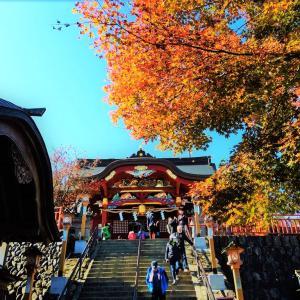 武蔵御嶽神社にまた走って行ってきたよ2020