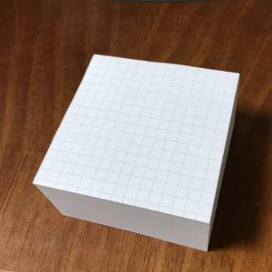 100均の方眼罫のブロックメモ的ポストイット