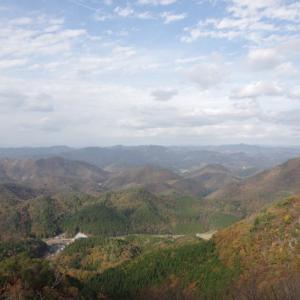 秋の山歩き(6)-筱見四十八滝・八ヶ尾山