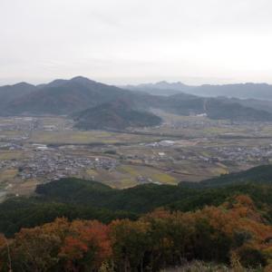 秋の山歩き(8)-黒井城跡(猪ノ口山)