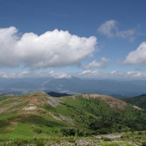 夏の山歩き(2)-霊仙山