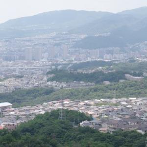 初夏の山歩き(3)-満願寺西山