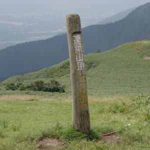 夏の里山歩き(4)-蓬莱山(比良山系)