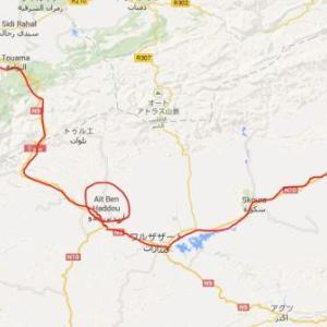 モロッコ4日目② マラケシュからの2泊3日サハラ砂漠ツアー1日目