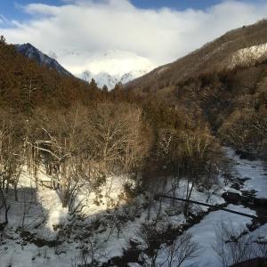 19年2月水上山荘宿泊記その5~谷川岳と朝食