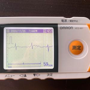 携帯型心電計を使い始めた