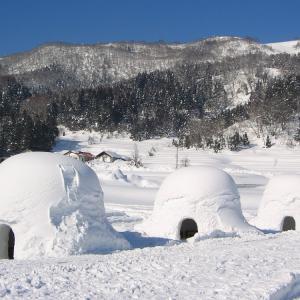 飯山市 豪雪の頃 2006年冬