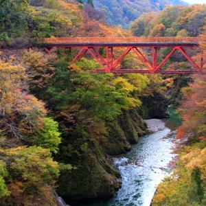 過去写真から 飯豊町 玉川渓谷の紅葉