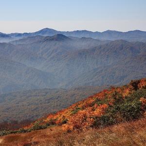 過去写真から 山形県・西川町 月山の紅葉 リフト上駅周辺