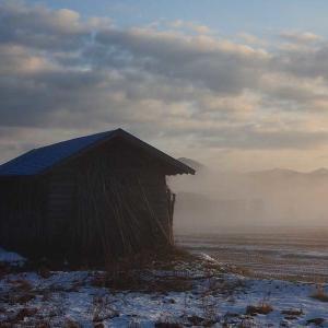 過去写真より 岩手・西和賀町の初雪