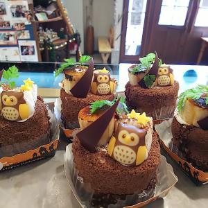 Newケーキ★森のチョコロール