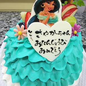 新作ドレスケーキ★ジャスミン