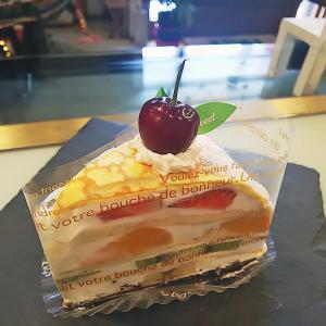 Newケーキ★フルーツミルクレープ