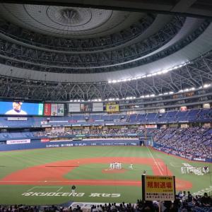 今年最後の京セラドーム