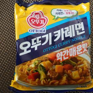 韓国即席カレーラーメン