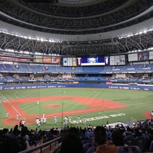2021年初の京セラドーム