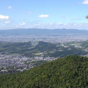 「醍醐山・高塚山・行者ケ森」へ