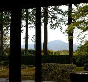 比叡山を「都の富士」と言わしめた圓通寺