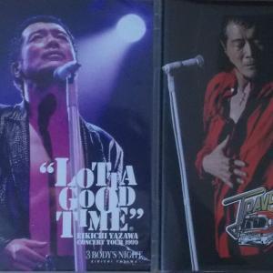 本日、「矢沢永吉」待望の3つの未発売ライブ映像が7年ぶりのBOXセット届きました。気分転換に最高!