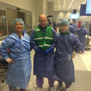 AANA 北米関節鏡学会の 股関節鏡コースの インストラクターへ