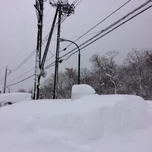 記録的豪雪に立ち会う