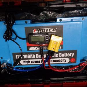 リチウムイオンバッテリー取扱開始♪ & 昨日使ってみました♪