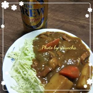 今日のお夕飯♪2020/01/20 カレーライスならぬカレーキャベツ