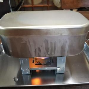 メスティン自動炊飯で炊き込みご飯