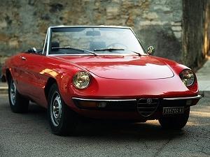 1971年製アルファロメオ・スパイダー1300ジュニアがない人生なんて