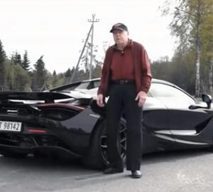78歳のお爺さんマクラーレン720Sスパイダーを買う
