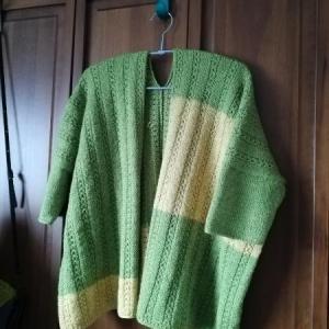 カーディガン編みあがりました!