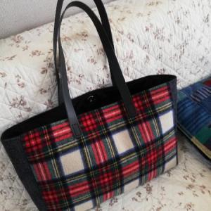bagと座布団カバー