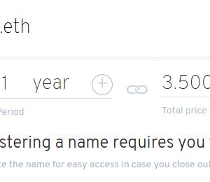 「ETHのドメイン(ENS)を登録してみた」をALISに掲載しました(と近況報告)