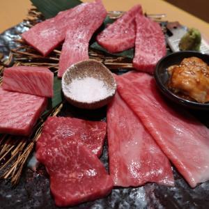 ☆銀座の夜景が眺められる贅沢な個室で、日本3大和牛の希少な近江牛の焼肉を堪能!!☆