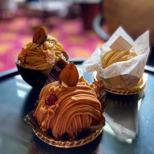 ☆ウェスティンホテル東京の3種類のモンブランを食べ比べ♪☆