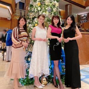 ☆横浜ベイシェラトンホテル&タワーズのクリスマスツリー点灯式&チャリティーオークション開催式へ♪