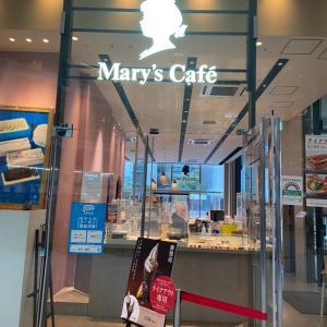 ☆ホワイトチョコレートと苺の甘酸っぱさが絶妙ないちごのパフェ☆Mary's Cafe☆