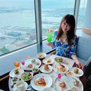 ☆空と海が一望できる天空のレストランで海外旅行気分で楽しめるビュッフェランチ☆