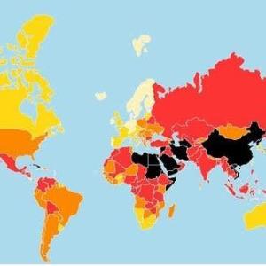 「世界報道の自由ランキング」G7=主要7か国の中で日本は最下位